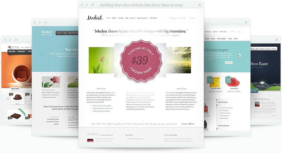 wordpress create blog page template - elegantthemes the most elegant and affordable wordpress