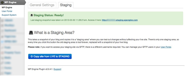 wpengine-staging