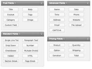 Form Fields for Gravity Forms Plugin