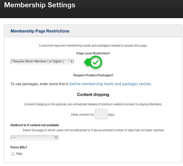 OptimizePress Membership Setup
