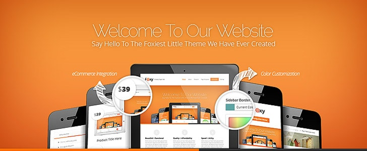 Foxy Theme for WordPress