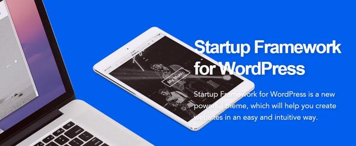 Startup Framework WordPress