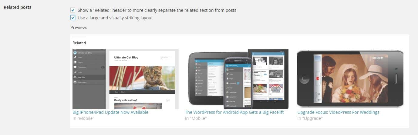 Related Posts Featured in JetPack