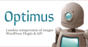 Optimus: Lossless compression of images WordPress Plugin & API