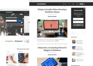 SoloPreneir Theme for WordPress