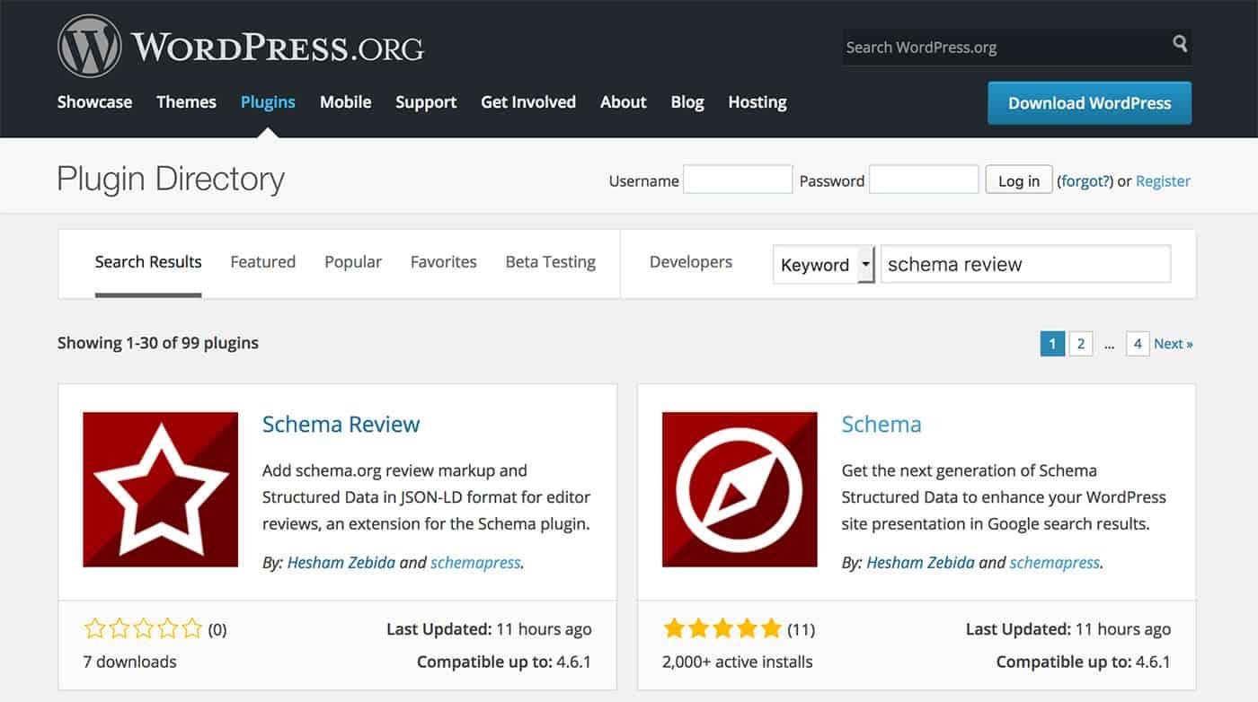Schema Review Extension Plugin