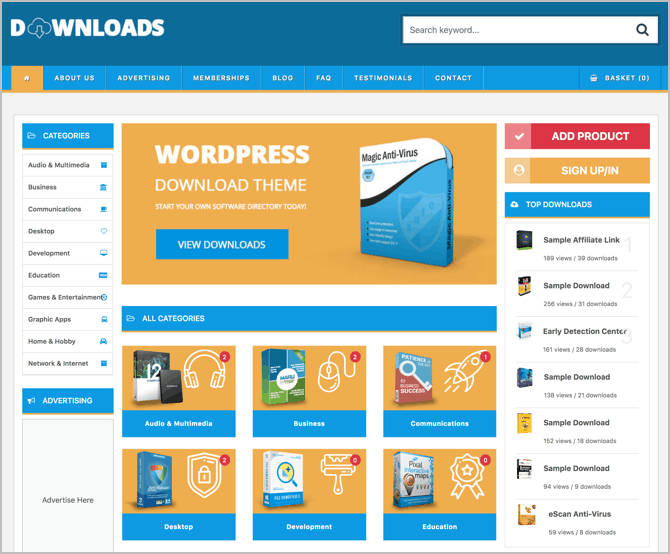 15+ Best WordPress Themes For Selling Digital Products (2019)