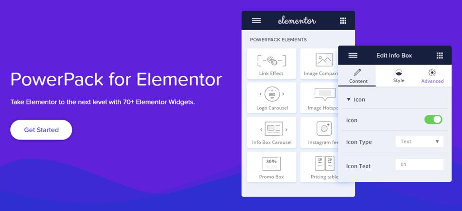 GPL free download PowerPack Elements for Elementor 2.2.7 WordPress - Elementor Addon