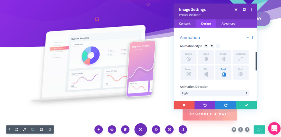 Divi - Animation Controls
