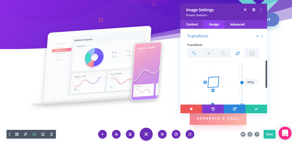 Divi - Transform Controls