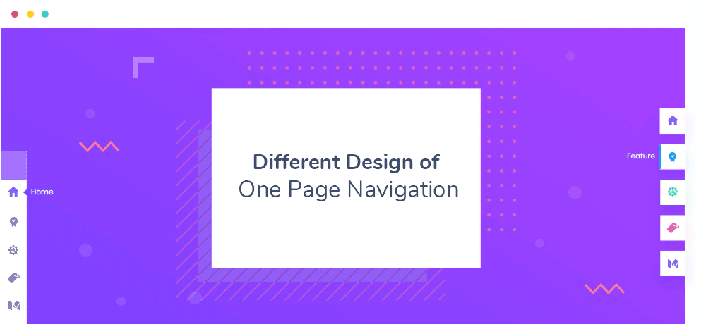 Essential Addons - One Page Navigation
